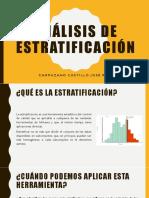 Análisis de Estratificación