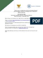 LAP Application Form 2019