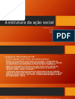 A estrutura da ação social_2018