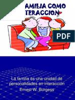 La Familia Como Interacción