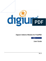 Digium Addons Module for FreePBX User Guide