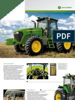 Tractor John Deere 7j Folleto