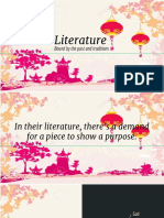 Lesson 10- Chinese Psyche and Literature