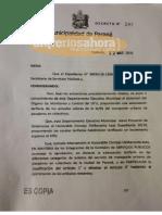 Aumento boleto colectivo Paraná /decreto 22 de marzo de 2019