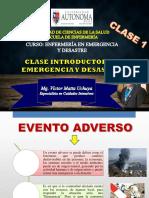 Clase 1 - Emergencia y Desastre (1)