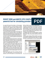 Artigo_rocky Dem and Ansys Cfd Coupling
