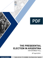 The Presidential Election In Argentina - Synopsis (April 2019)