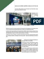 Bolivia expone sus avances en el ámbito científico nuclear en el X Foro de Atomexpo.docx