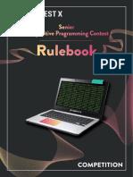 Rulebook SCPC
