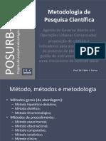 Metodologia Científica de Projeto de Pesquisa