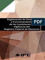 Reglamento de Sesiones y Funcionamiento de las Comisiones de Vigilancia del RFE