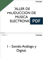 Taller Produccion musica electronica