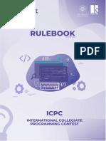 Rulebook ICPC 2019