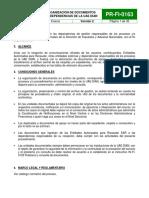PR FI 0163 OrganizaciondeDocumentosenDependencias 1 26a31 DiagramaFlujo