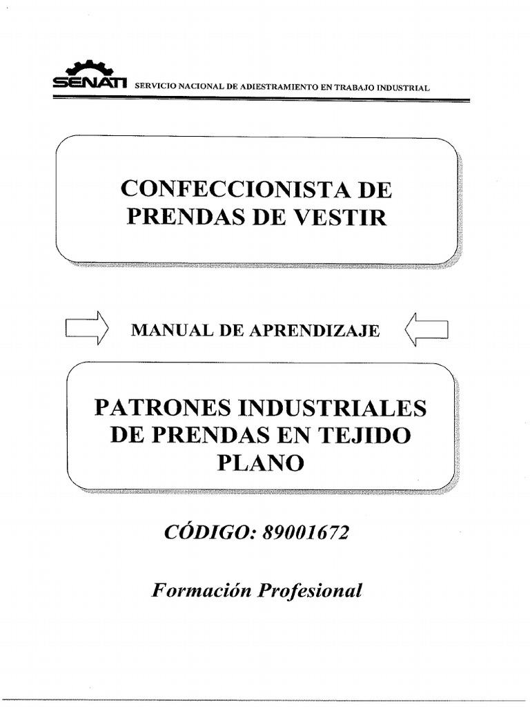 fbd8a8f48115 Patrones industriales.pdf | Vaqueros | Ropa