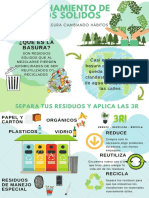 Illustrated Recycling Poster