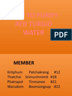 How to purify red turgid water.pptx