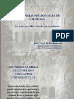 Tendencias Pedagogicas Colombia