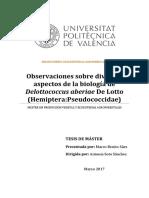 Benito - Observaciones sobre diversos aspectos de la biología de Delottococcus aberiae De Lotto (....pdf