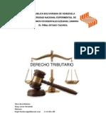 Trabajo de Derecho Tributario