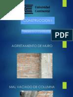 Agrietamiento de Muro-1