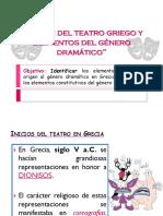 8. Origen Del Teatro Griego y Generalidades Del g. Dramático