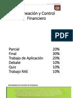 Semana 1 Planeación y Control Financiero