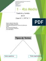 PPT N° 1 -Formas del Texto Expositivo