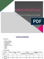 PRUEBAS PIAGETANAS