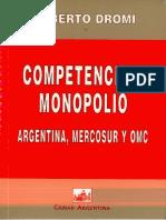 Páginas DesdeCompetencia y Monopolio_ Argent - Dromi, Roberto(Author)