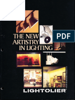 Lightolier Lytespan Track Lighting Systems Catalog 1979