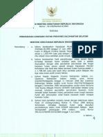 Kalimantan Selatan_SK 435 Thn 2009