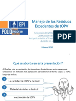 OPV Switch TOPV Disposal Feb2016 Spanish
