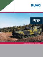 Compact 120 Tank Gun Brochure