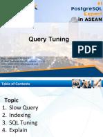 Equnix PostgreSQL Query Tuning