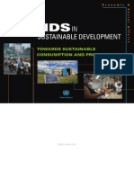 Trends in Sustainable Consumption and Production