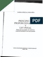 Lopera Mesa-Principio de Proporcionalidad y Ley Penal