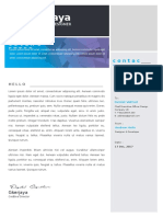 01 Cover Letter Template