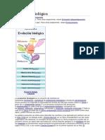 Evolucion Wiki