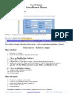 6.Formulários e Macros