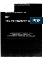 NIST Time and Frequency Services