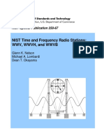 NIST Time and Frequency Radio Stations