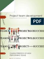 Project Team Development