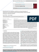 Experimental investigation, prediction and optimization of cylindricity and perpendicularity during drilling of WCB material using grey relational analysis.pdf