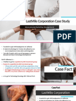 LastMile Corporation Case Study