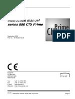 880 CIU Prime Instruction Manual