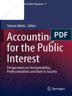 (Advances in Business Ethics Research 4) Michael K. Shaub, Robert L. Braun (auth.), Steven Mintz (eds.) - Accounting for the Public Interest_ Perspectives on Accountability, Professionalism and Role i.pdf