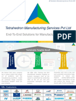 Tetrahedron manufacturing Service Corporate Deck