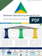 Tetrahedron manufacturing Service Corporate Deck