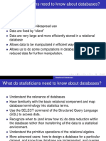 Relational Algebra in database management